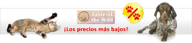 Taste of the Wild para perros y gatos
