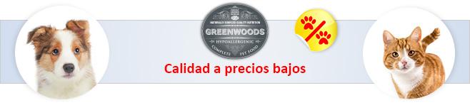 Greenwoods para perros y gatos