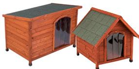 Casetas de madera para perros