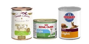 Comida húmeda light para perros