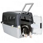 Transportines, jaulas y viaje para perros